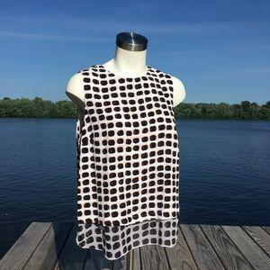 Kate Spade New York silk sleeveless top